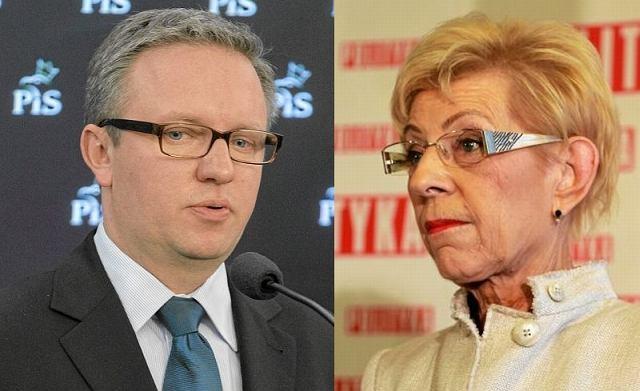 Krzysztof Szczerski, Janina Paradowska