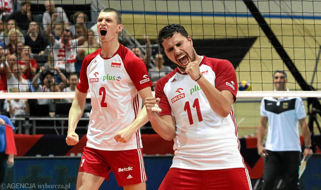 Mistrzostwa Europy siatkarzy. CEV Eurovolley w Apeldoorn. Polska - Niemcy 3:0, Maciej Muzaj , Fabian Drzyzga.