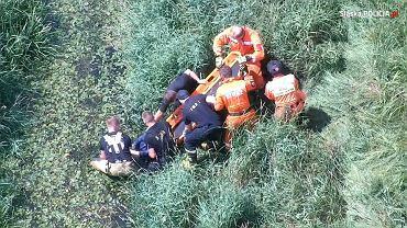 Śląskie. 63-latka z zanikami pamięci odnaleziona. Pomógł policyjny dron