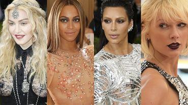 MET Gala 2016, jak co roku przyciągnęła do nowojorskiego Metropolitan Museum of Art plejadę największych światowych gwiazd, które stanęły na głowie, aby pokazać się w jak najbardziej oryginalnej i stylowej kreacji. Impreza, organizowana w ramach otwarcia dorocznej wystawy w Costume Institute, to jedno z najważniejszych wydarzeń w świecie mody. Nic więc dziwnego, że na gali każdego roku pojawia się prawdziwy tłum znanych nazwisk, a otrzymanie na nią zaproszenia jest wyznacznikiem pozycji i sukcesu w branży. W tym roku na czerwonym dywanie też pojawiła się śmietanka Hollywood, świata mody czy muzyki: byli m.in. Beyonce, Taylor Swift, Kim Kardashian, Lady Gaga czy Beyonce. Zobaczcie w naszej galerii, kto jeszcze pojawił się na MET Gala 2016!