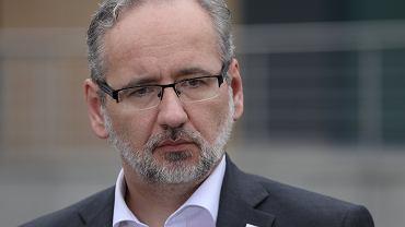 Adam Niedzielski, minister zdrowia