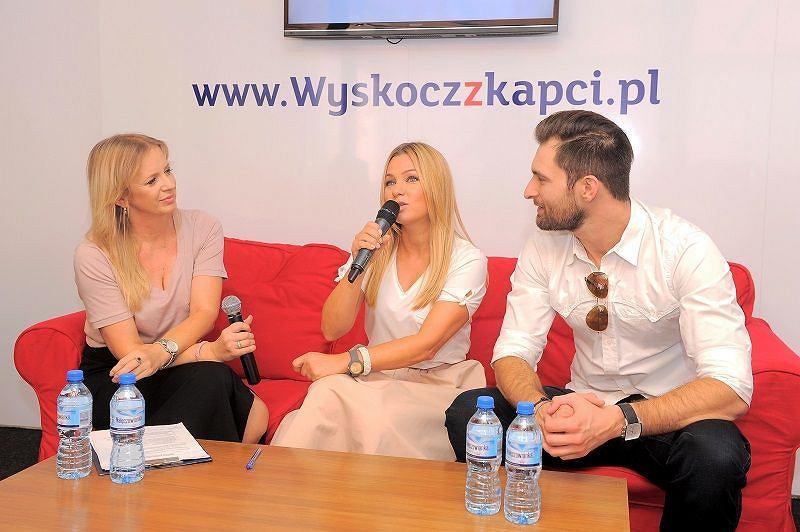 Spotkanie prasowe Nałęczowianka Wyskocz z kapci
