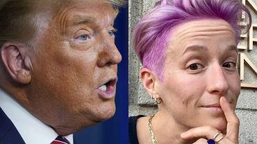 Donald Trump, Megan Rapinoe