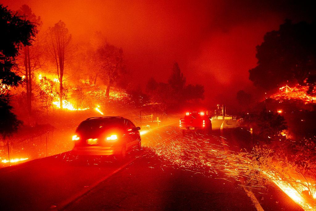 Pożary w Kalifornii