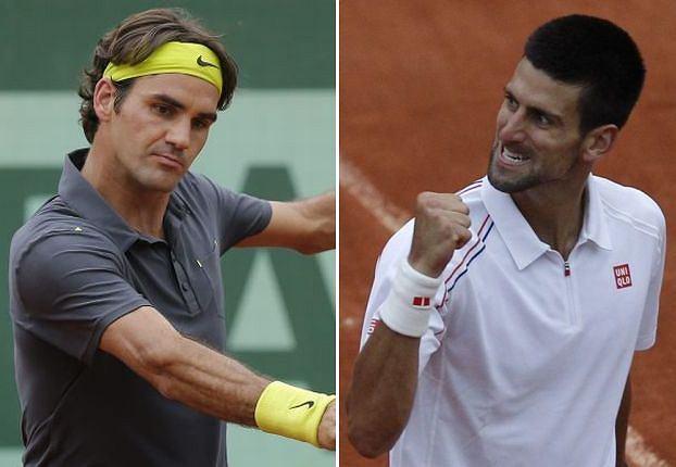 Novak i Roger zameldowali się w półfinale. Ale wcześniej musieli przejść przez nie lada horrory