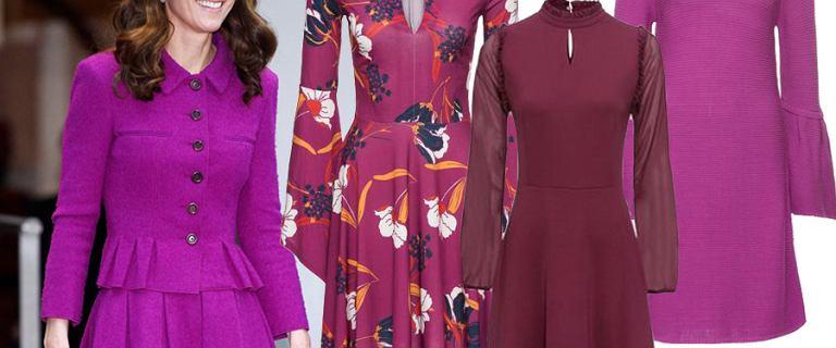 Księżna Kate założyła cudowną kreację! Znalazłyśmy sukienki w  podobnych odcieniach