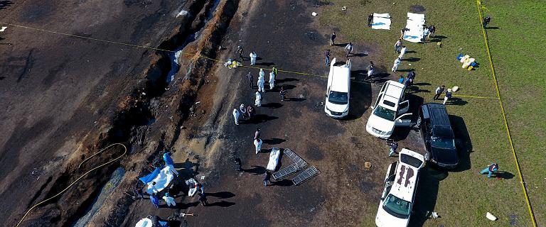 Meksyk: 85 ofiar. Firma wiedziała o wycieku przed wybuchem ropociągu