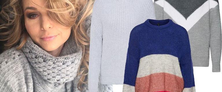 Paulina Sykut nosi przepiękne swetry. Mamy bardzo podobne w jej stylu!