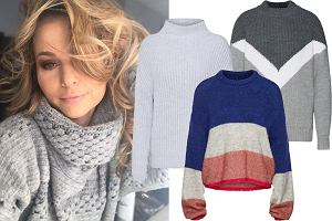 swetry w stylu Pauliny Sykut / mat. partnera / www.instagram.com/paulinasykutjezyna/