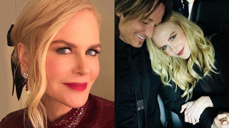 Nicole Kidman z mężem