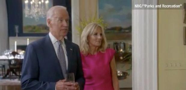 Joe i Jill Biden w serialu 'Parks and Recreation'