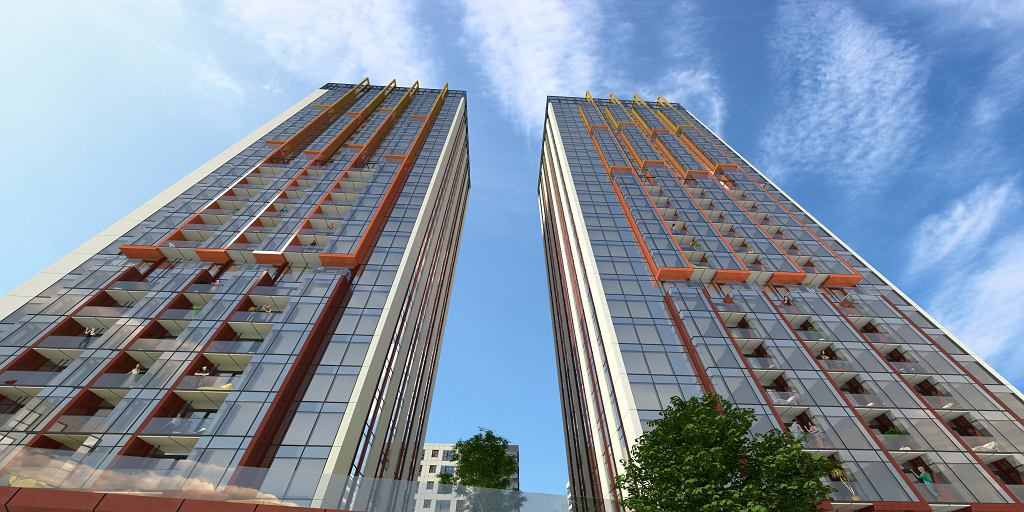 Wizualizacja Towarowa Towers