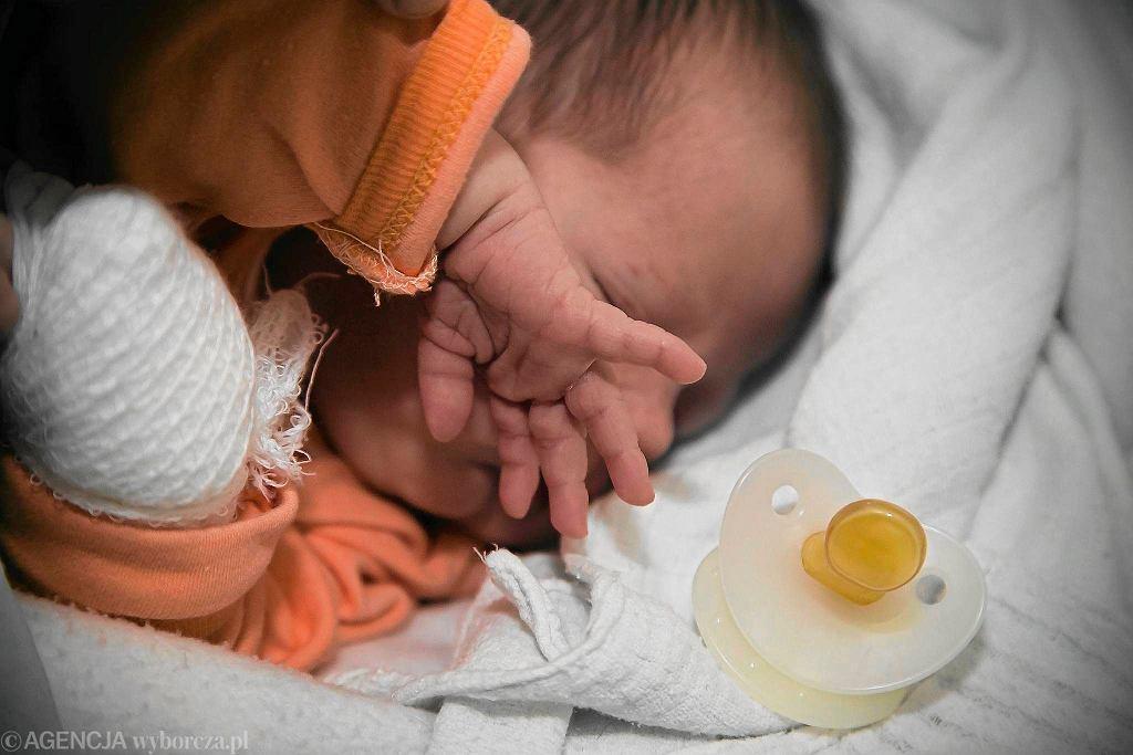 Dziecko pozostawione w 'Oknie życia' (zdjęcie poglądowe)