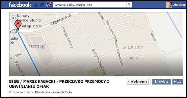 Zaproszenie na fb.