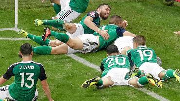 Radość piłkarzy Irlandii Północnej
