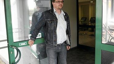 Maciej Wąsik po przesłuchaniu w prokuraturze w Rzeszowie
