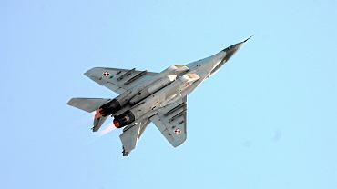 MiG-29, zdjęcie ilustracyjne