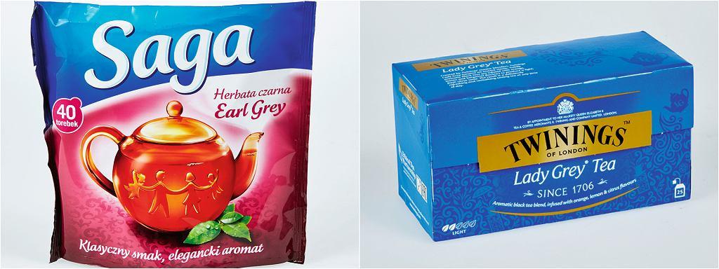Herbata Saga vs Twinings