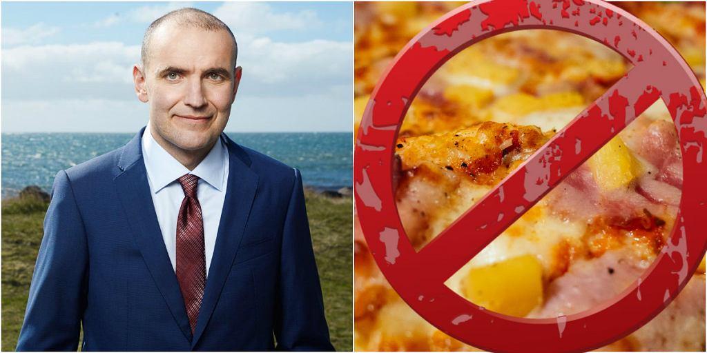 Nie dla pizzy z ananasem w Islandii?