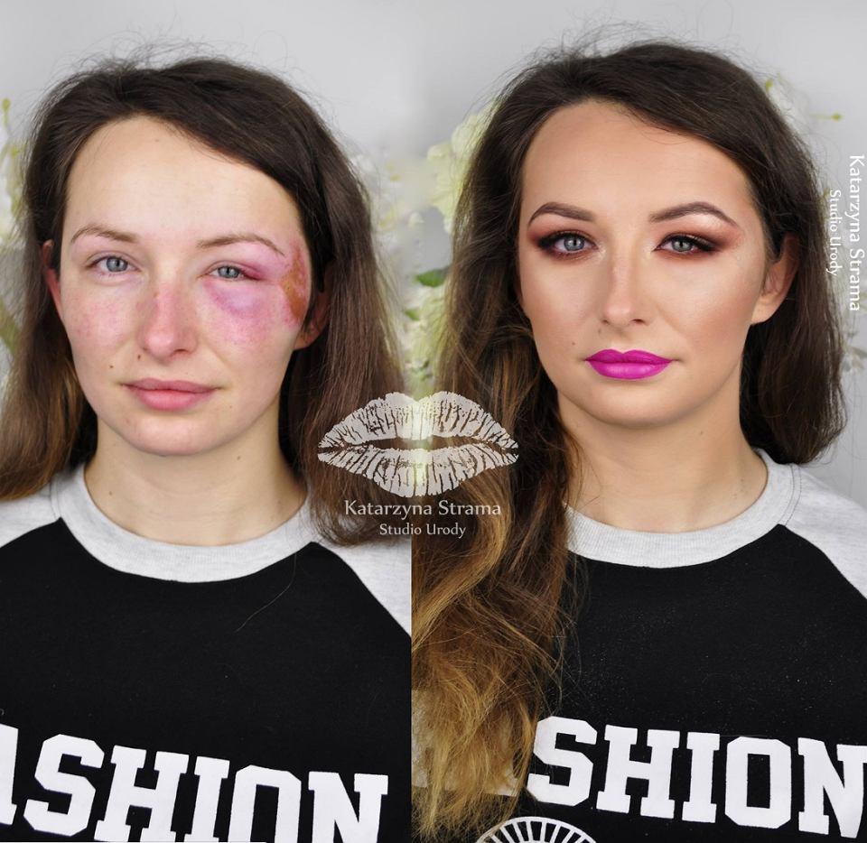 Makijażowa metamorfoza