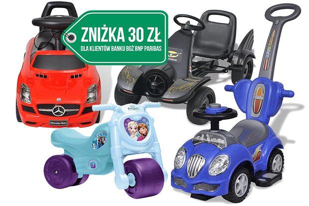 Gokarty, rowerki i inne pojazdy dla dzieci
