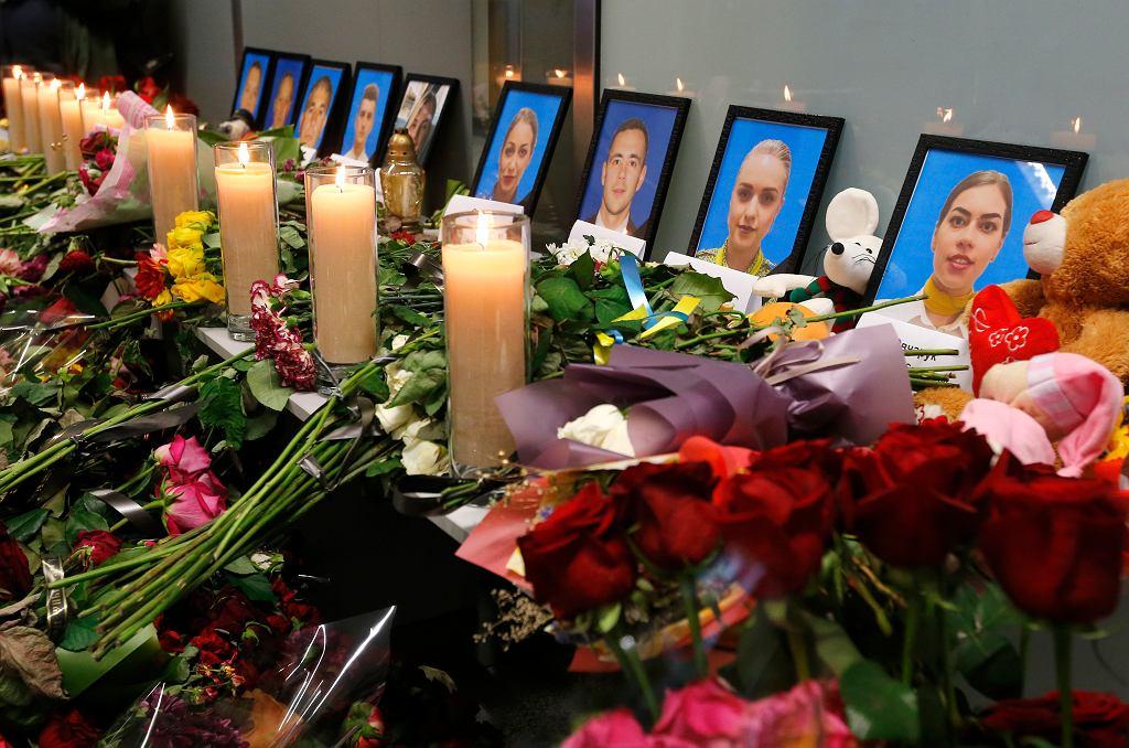 Upamiętnienie załogi ukraińskiego samolotu zestrzelonego w Iranie