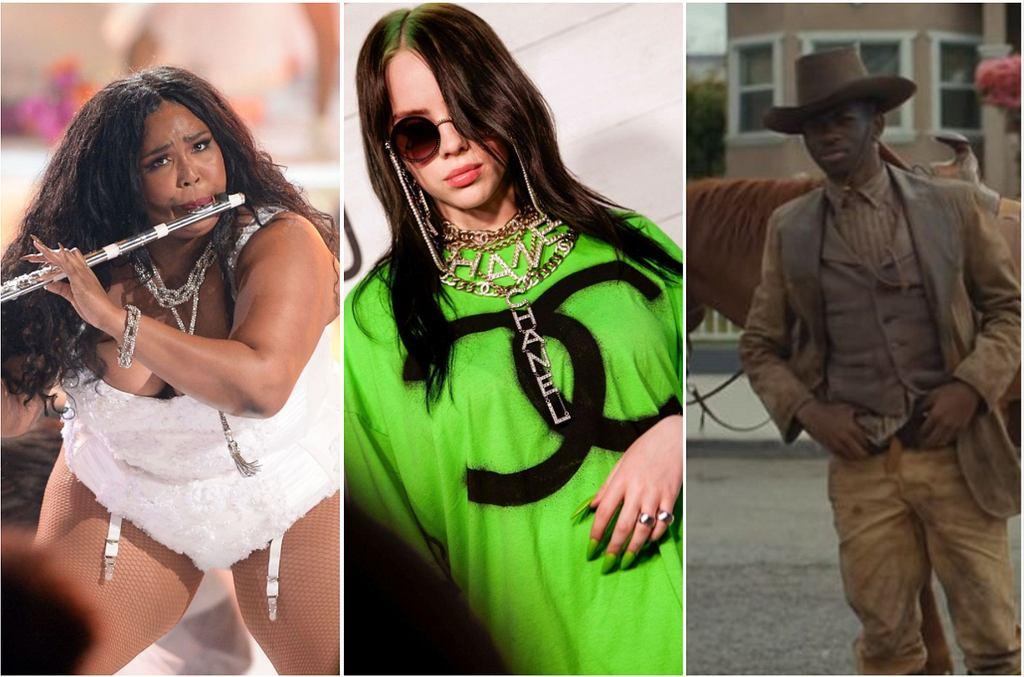 Lizzo, Billie Eilish, Lil Nas x