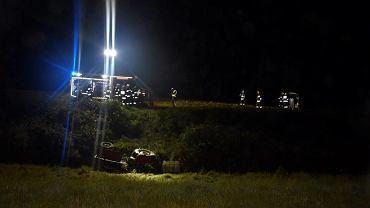 Traktor przygniótł mężczyznę