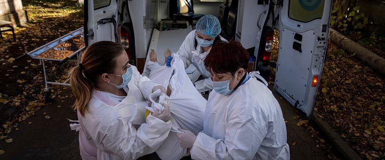 Ukraina. Najwięcej zgonów od początku pandemii, z Polski jedzie tlen