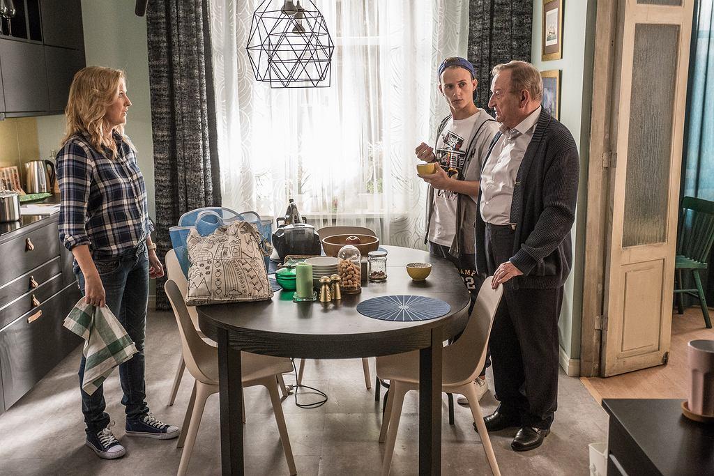 Fotos z planu serialu 'Dom pełen zmian'