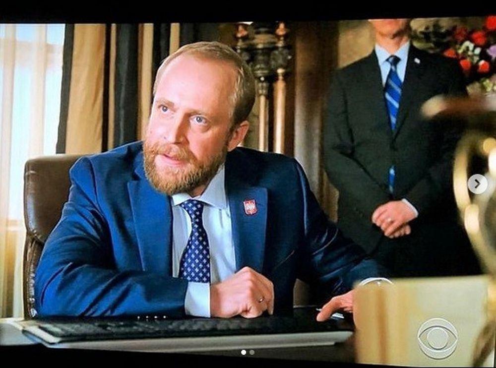 Piotr Adamczyk w 'Madam Secretary', prod. CBS