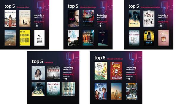 TOP 5 Bestsellerów Empiku