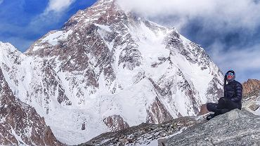 Magdalena Gorzkowska pod K2.