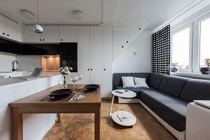 Mieszkanie na poddaszu dla młodego architekta
