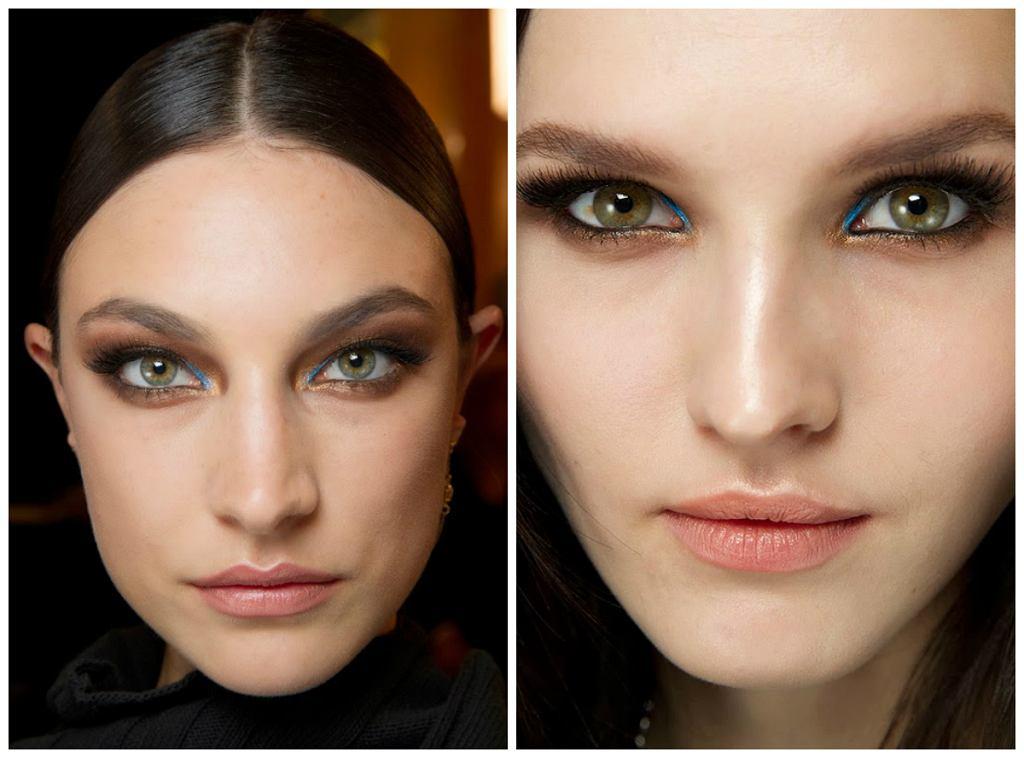 Makijaże z pokazu Versace Couture SS2014