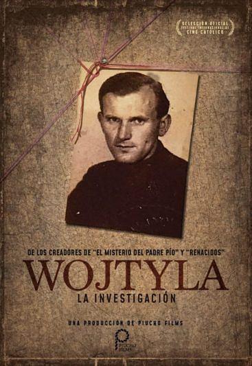 Plakat filmu 'Wojtyła. La Ivestigation'