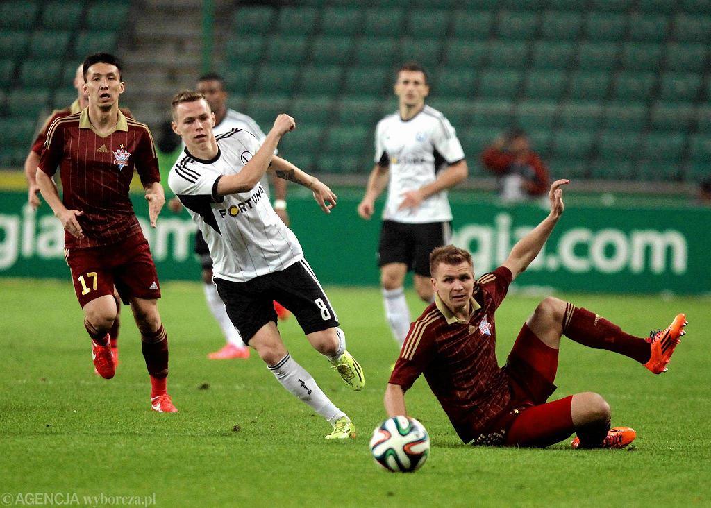Ondrej Duda w meczu z Aktobe