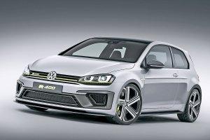 Salon Pekin 2014 | Volkswagen Golf R 400 Concept | 300 KM to za mało
