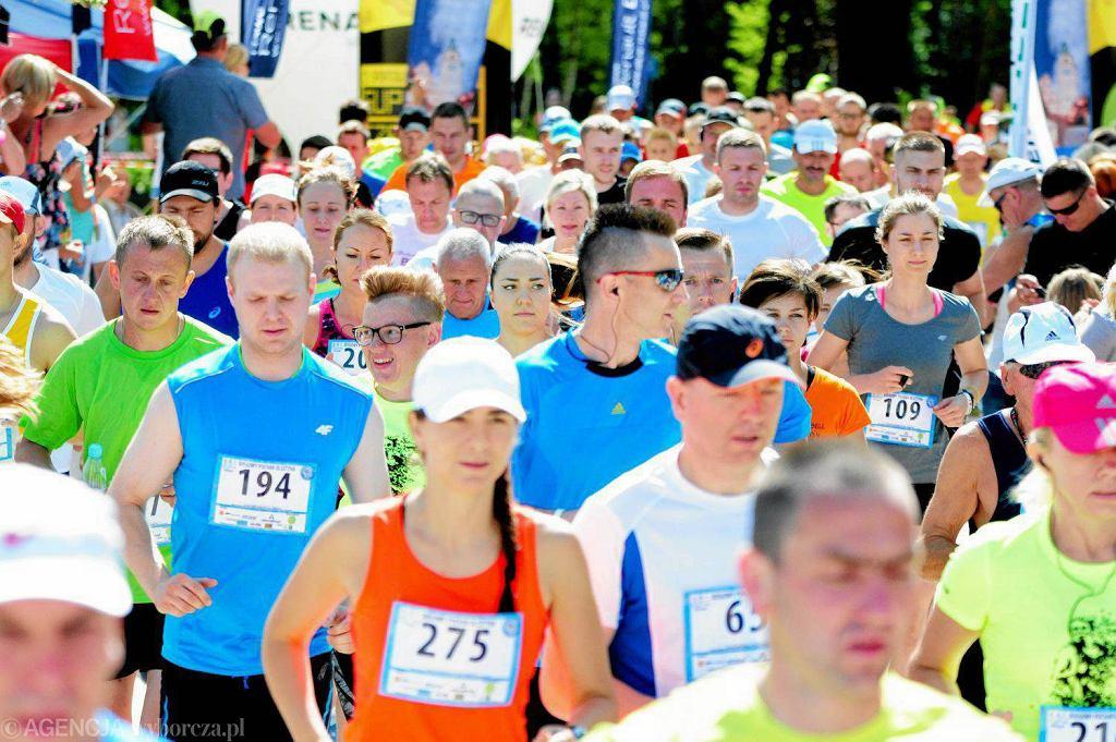Olsztyn. Biega! Ponad 300 osób wystartowało w drugim biegu rozgrywanym na dystansie 10 km