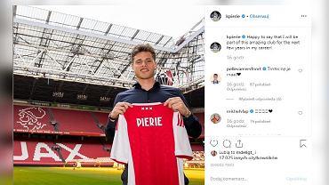 Kik Pierie piłkarzem Ajaxu