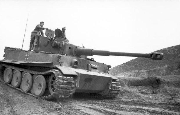 czołg Tygrys I