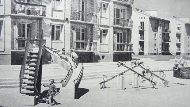 Plac zabaw na osiedlu Bielany II (ul. Skalbmierska)