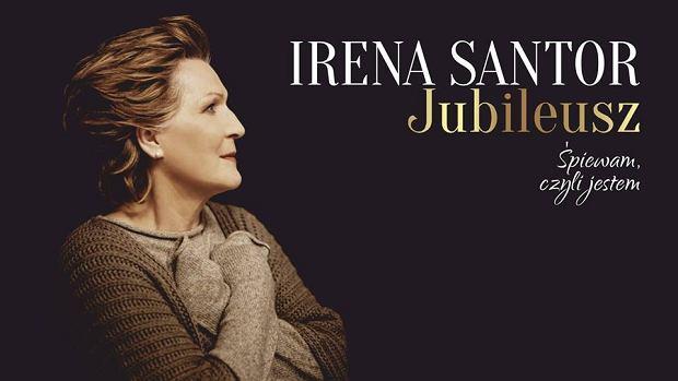 plakat promocyjny jubileuszowy koncert Ireny Santor