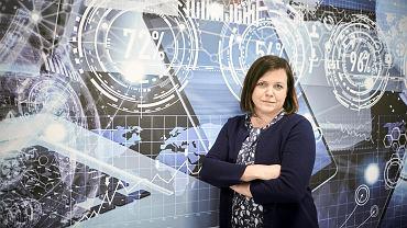 Kinga Chelińska-Barańska, dyrektor łódzkiego oddziału Digital Workforce