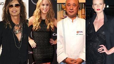 Steven Tyler, Chef Nobu, Tara Lipinski, Anne V