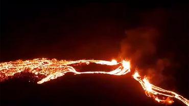 Wybuch wulkanu na Islandii