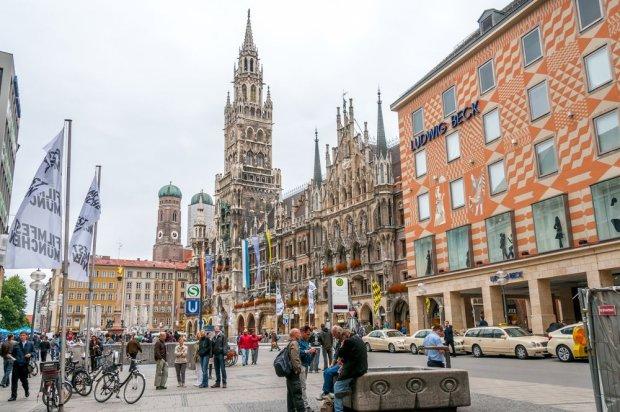 Poza pudłem znalazło się Monachium, siedziby swoich firm ma tu BMW, Munich Re czy Siemens