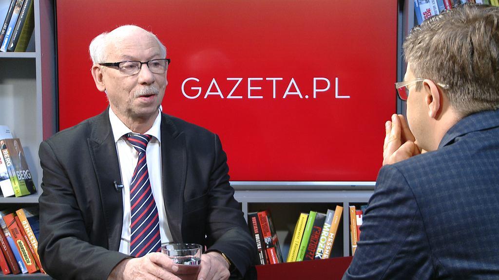 Janusz Lewandowski był gościem Porannej rozmowy Gazeta.pl