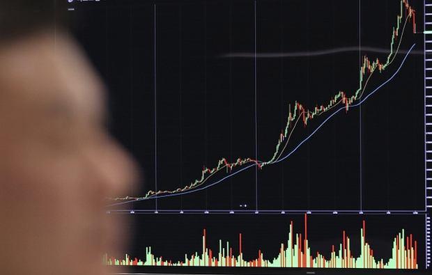 Od początku roku wartość bitcoina wzrosła o 1700proc.