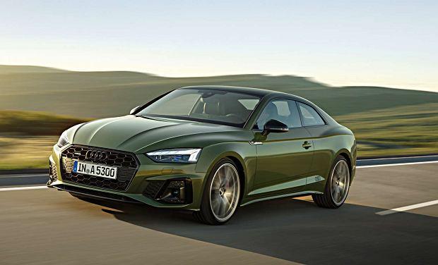 Audi A5 Coupe po liftingu